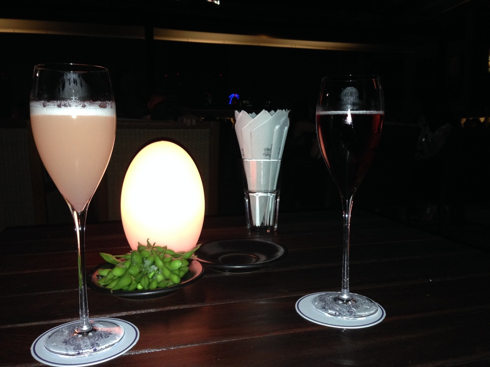 Lawn Bar cocktails
