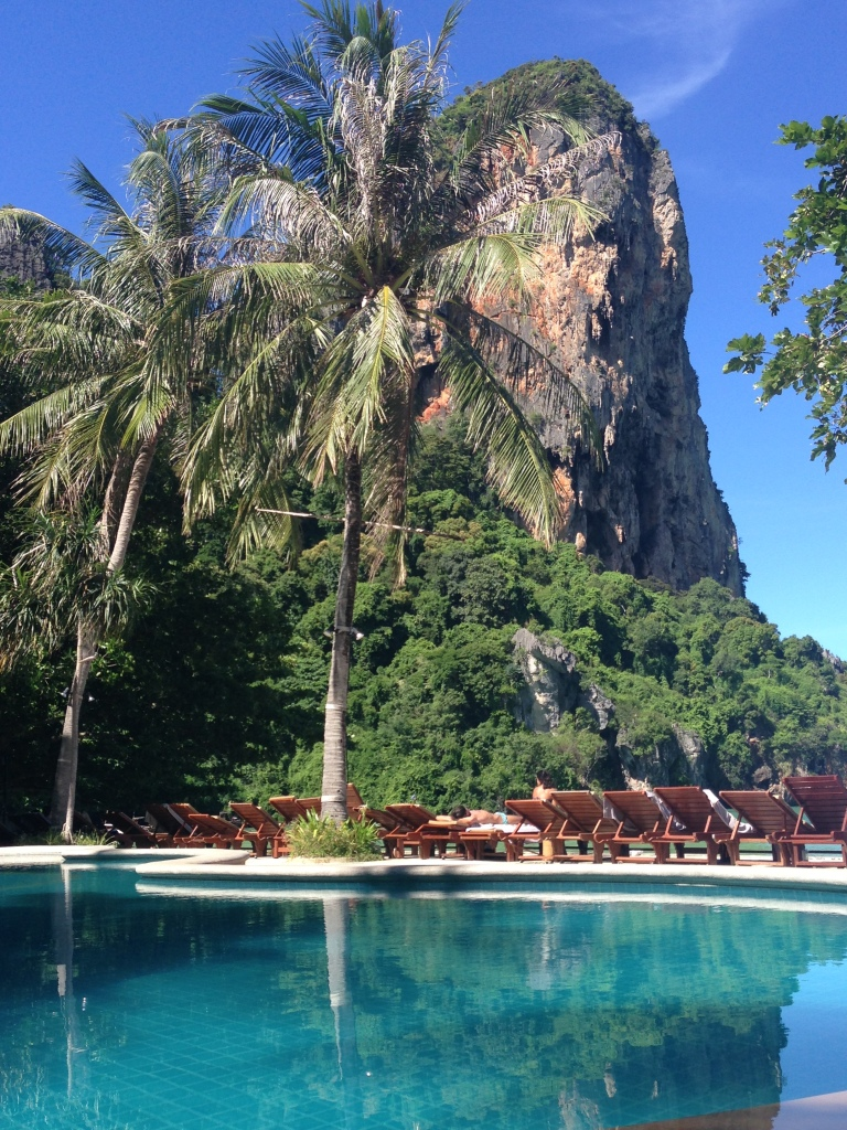 Railay Bay Resort & Spa - view from the pool